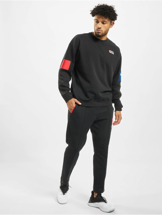 Puma Sweat Pant Colour Block Knitted black