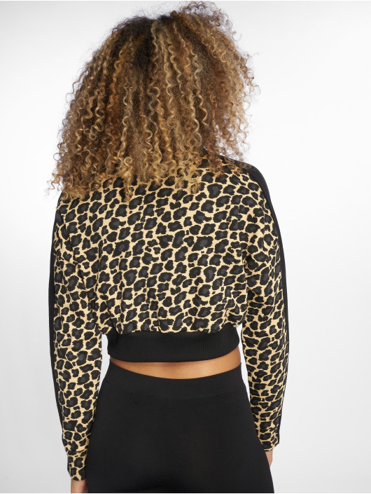 Puma Swetry Wild Pack T7 Cropped bezowy