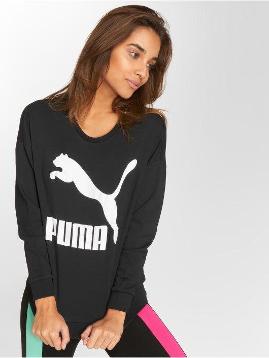 Puma Swetry Classics Logo czarny