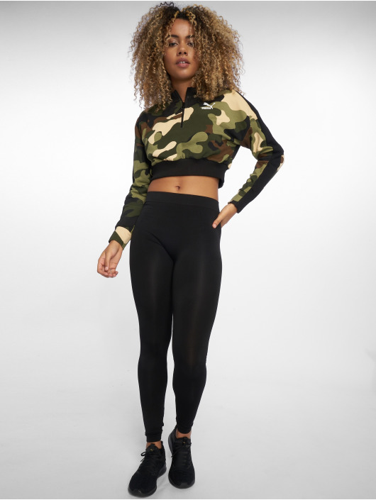 Puma Swetry Wild Pack T7 Cropped moro