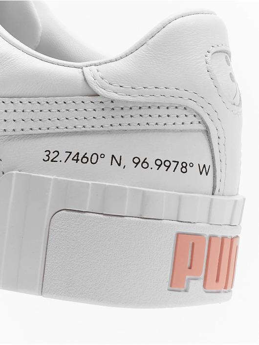 Puma Tøysko Cali Velcro X SG hvit