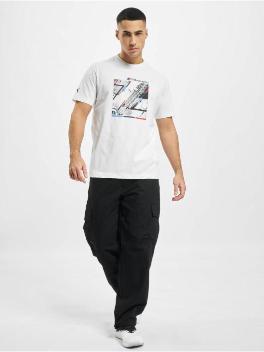 Puma T-paidat BMW MMS Graphic valkoinen
