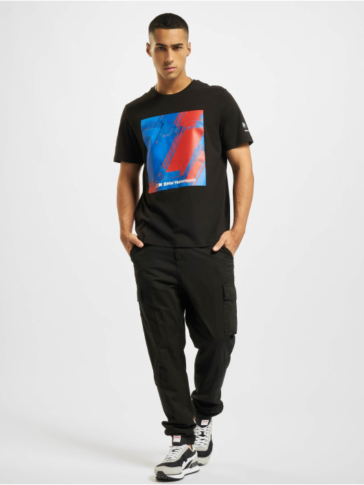 Puma T-Shirt BMW MMS Abstract Graphic black