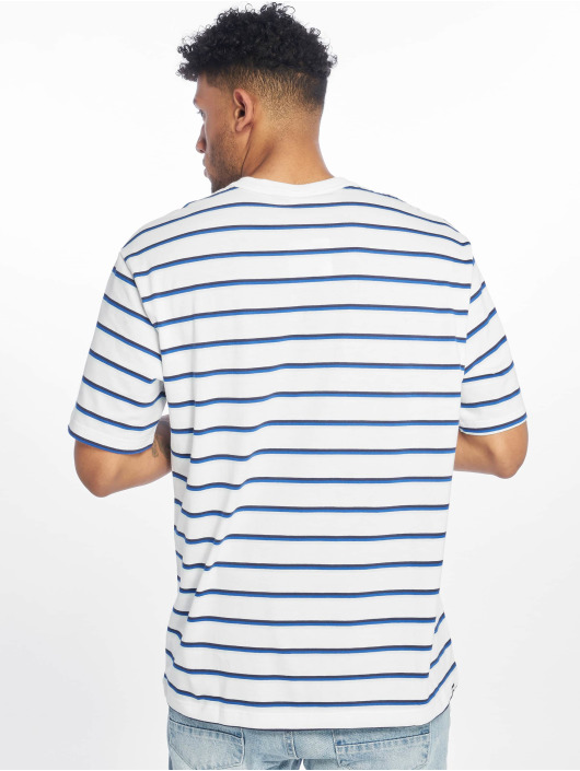 Puma T-Shirt Downtown Stripe blanc