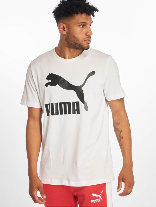 Puma T-Shirt Logo blanc