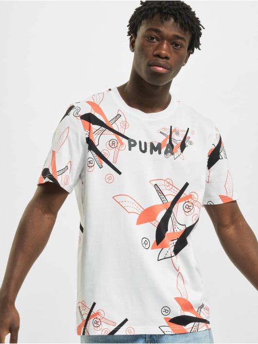 Puma T-Shirt BP 5 blanc