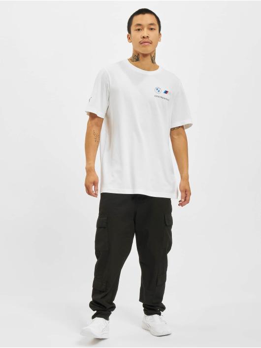 Puma T-Shirt BMW MMS Small Logo blanc