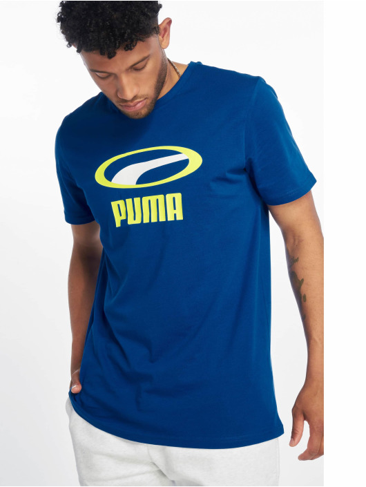 Puma T-Shirt Graphic XTG bleu