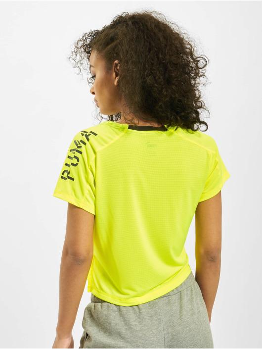 Puma T-shirt Logo Graphic giallo