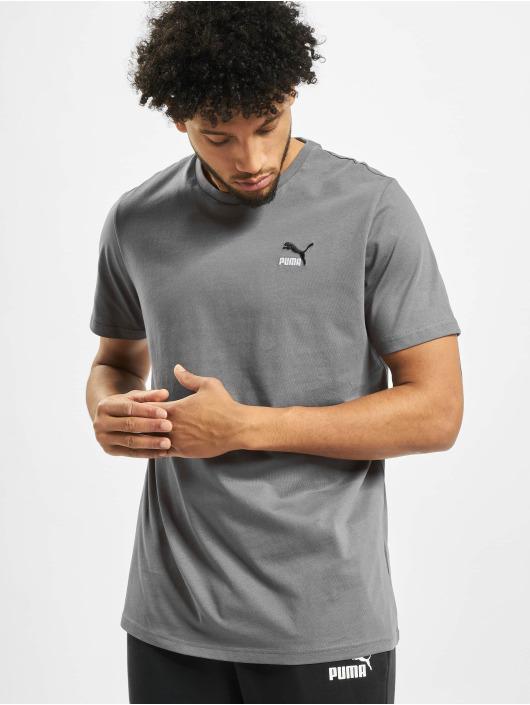Puma T-Shirt Classics Emb grau