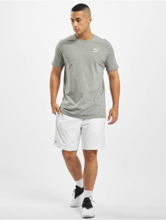 Puma T-Shirt Logo Embroidery grey