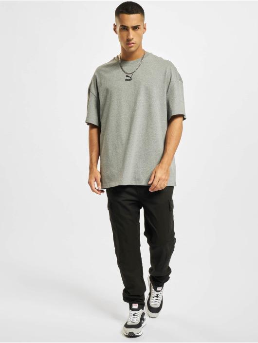 Puma T-shirt Classics Boxy grigio