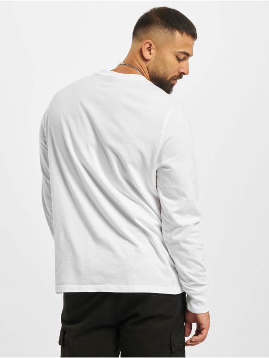 Puma T-Shirt manches longues 4th Quarter blanc