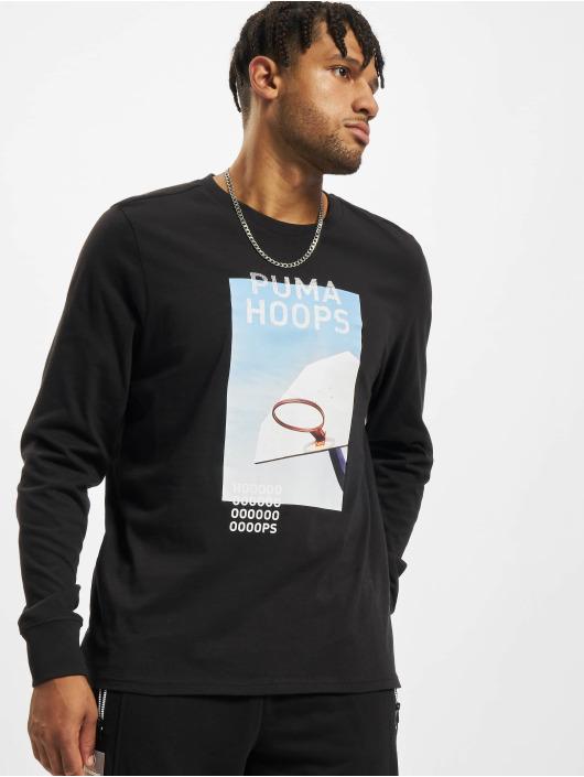 Puma T-Shirt manches longues Timeout noir