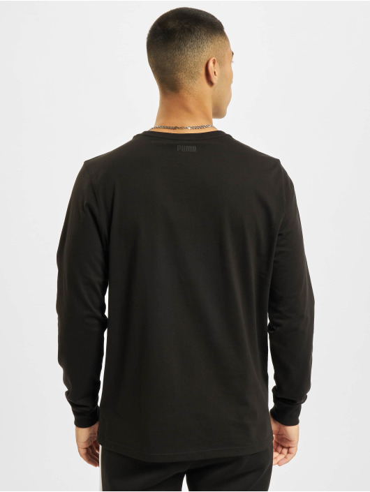 Puma T-Shirt manches longues Dylan 1 noir