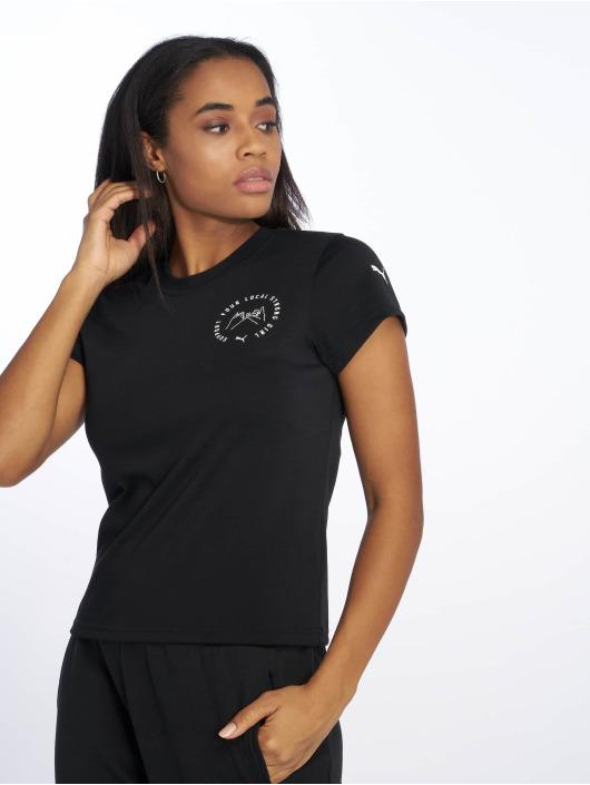 Puma T-Shirt SG X Puma 2 T-Shirt noir