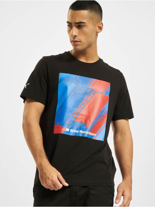 Puma T-Shirt BMW MMS Abstract Graphic noir