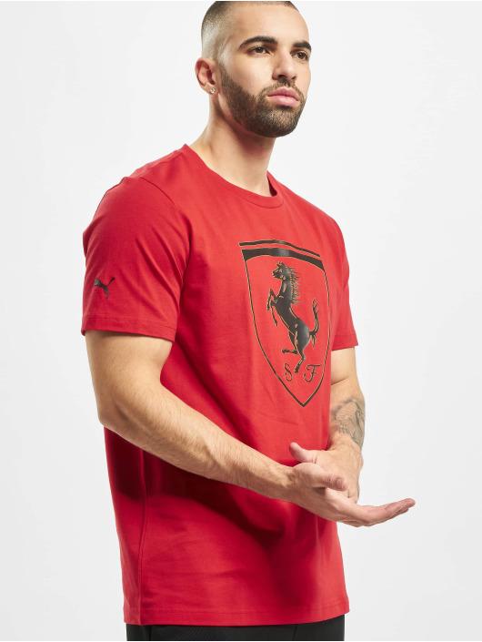 Puma T-Shirt SF Big Shield red