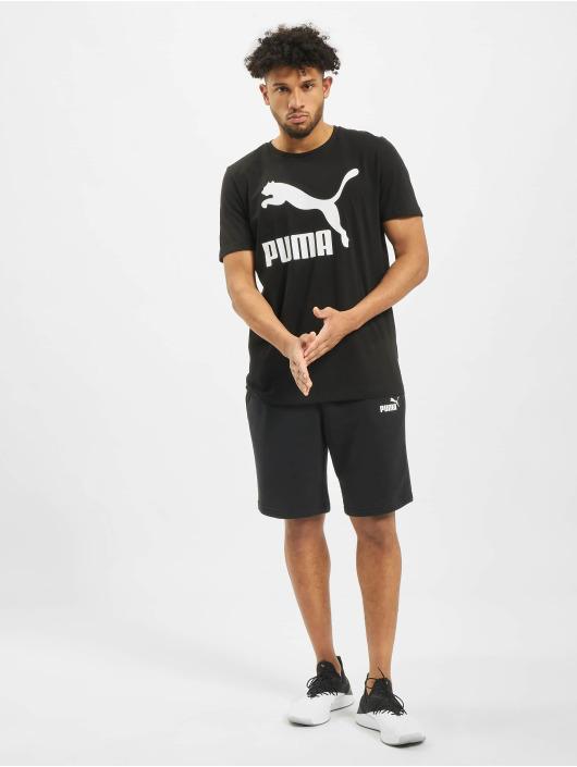 Puma T-Shirt Classics Logo schwarz
