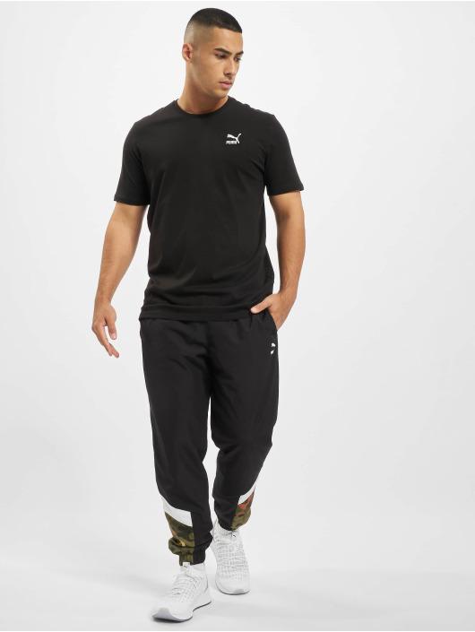 Puma T-Shirt Logo Embroidery schwarz