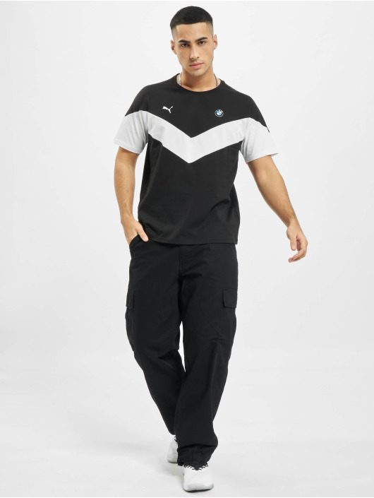 Puma T-Shirt BMW MMS MCS schwarz