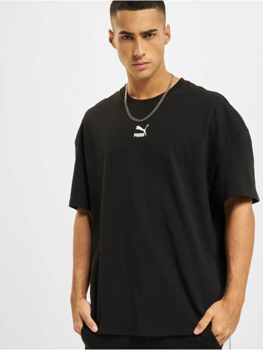 Puma T-Shirt Boxy schwarz
