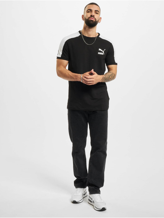 Puma T-Shirt Iconic T7 schwarz