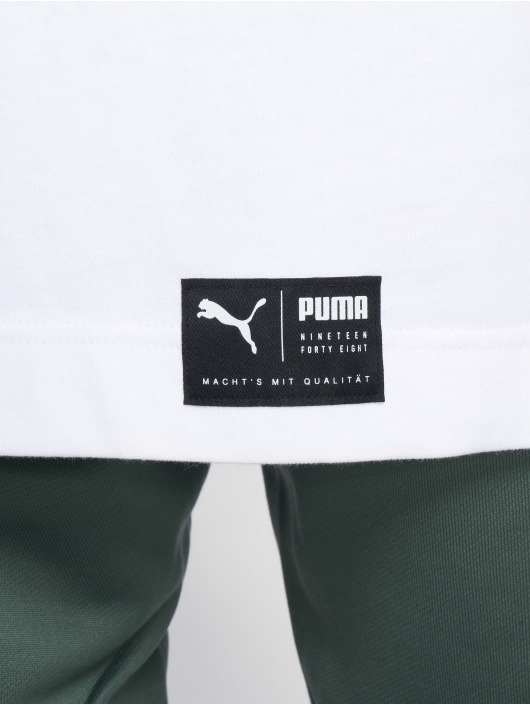 Puma T-Shirt Downtown weiß