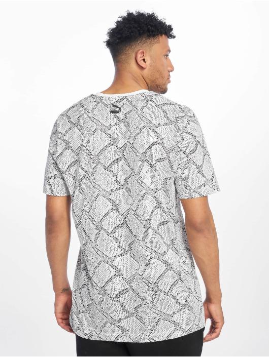 Puma T-Shirt Snake Pack Aop weiß