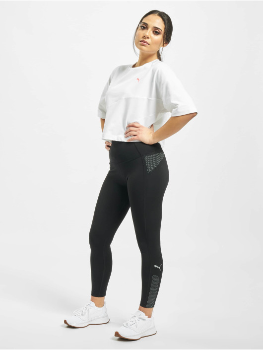 Puma T-Shirt Evide Form Stripe weiß