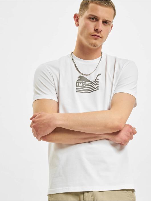Puma T-Shirt TMC Hussle Way Logo weiß