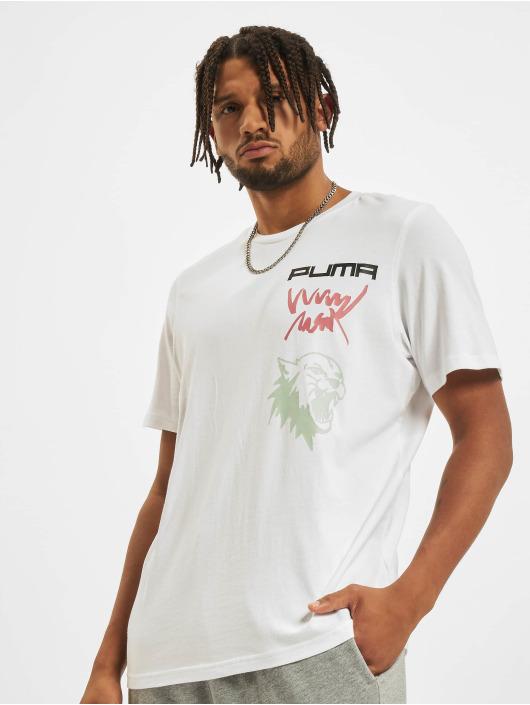 Puma T-Shirt 4th Quarter weiß