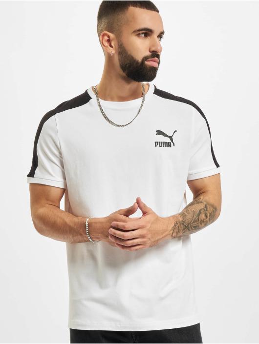 Puma T-Shirt Iconic T7 weiß