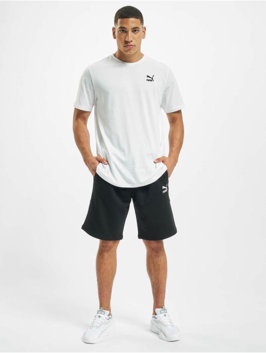 Puma T-Shirt Classics Logo Embroidery white