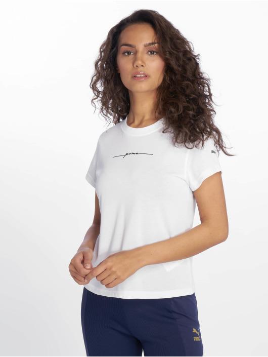 Puma t-shirt SG X Puma 2 wit