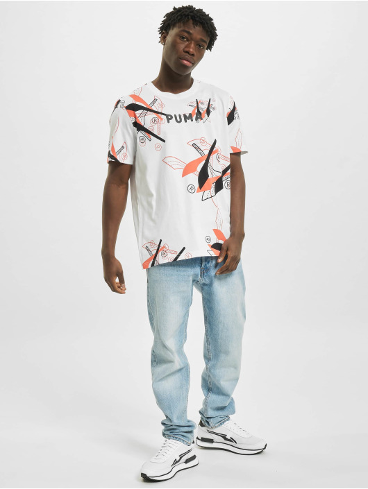 Puma t-shirt BP 5 wit