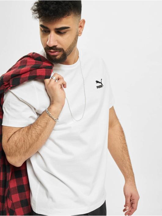 Puma t-shirt Classics Embro wit