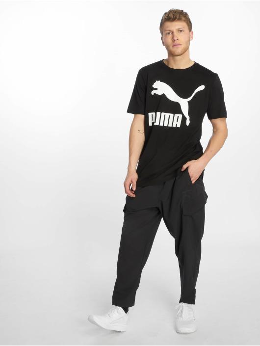 Puma t-shirt Classics Logo zwart