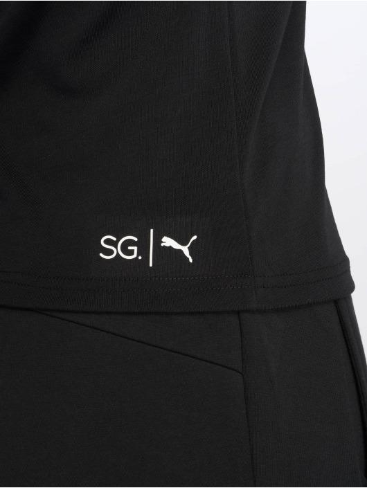 Puma t-shirt SG X Puma 2 T-Shirt zwart