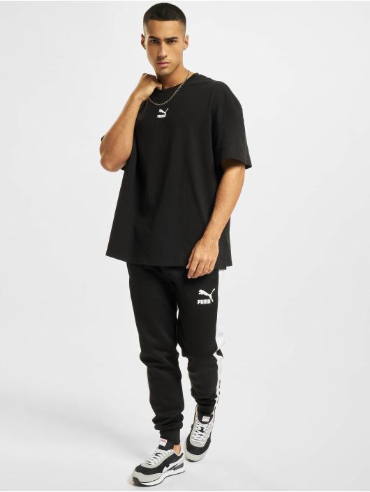 Puma t-shirt Boxy zwart