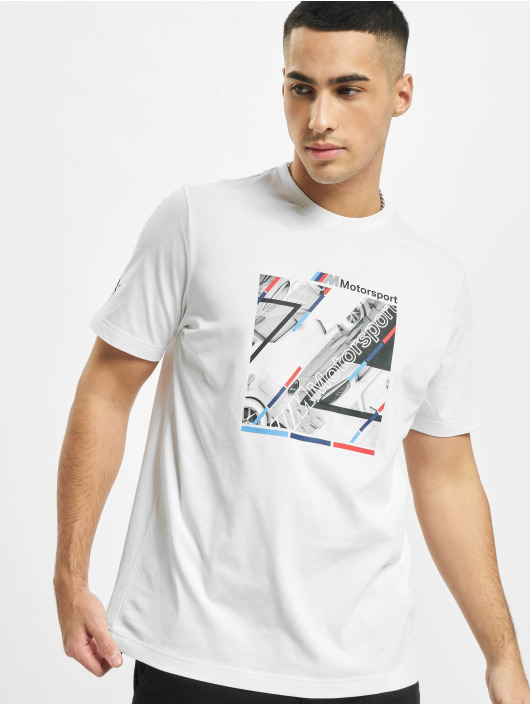 Puma T-shirts BMW MMS Graphic hvid