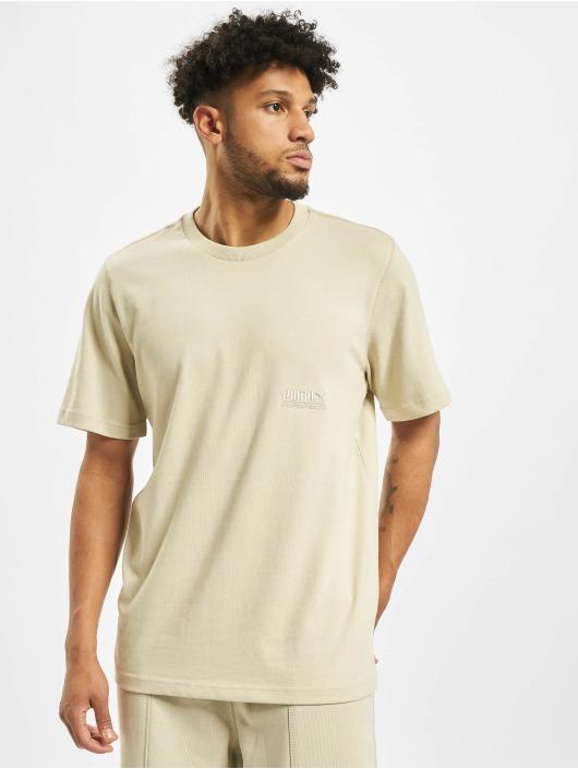 Puma T-Shirty Heavy Classics Tee bezowy