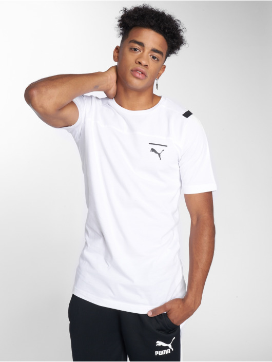 Puma T-Shirty Pace bialy