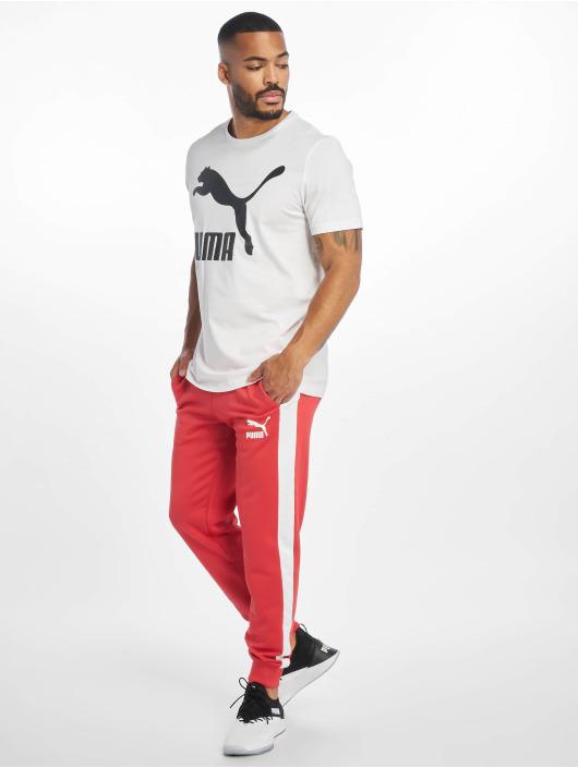 Puma T-Shirty Classics Logo bialy