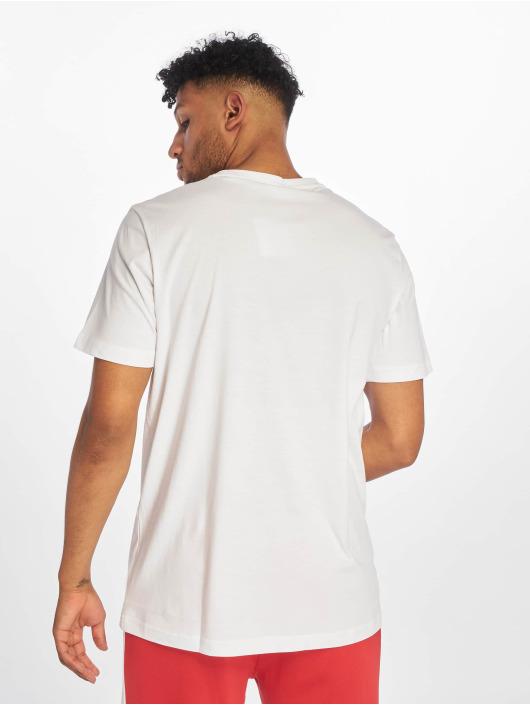 Puma T-Shirty Logo bialy