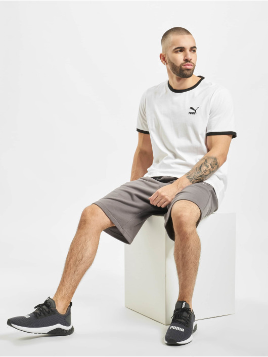 Puma T-Shirty Ringer bialy