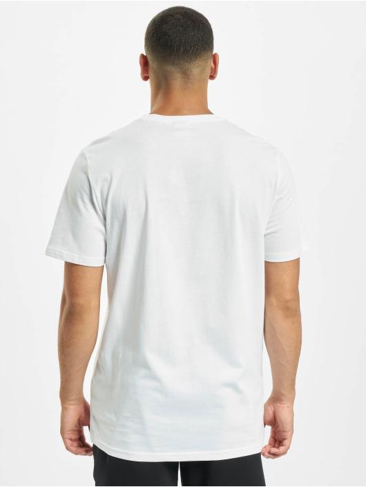Puma T-Shirty Classics Logo Embroidery bialy