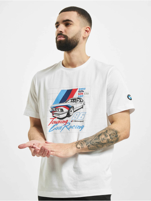 Puma T-Shirty BMW MMS bialy