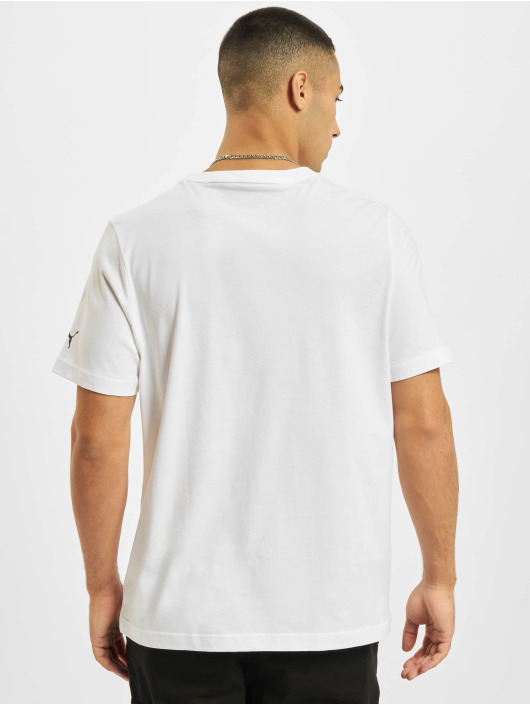 Puma T-Shirty MAPF1 Logo bialy
