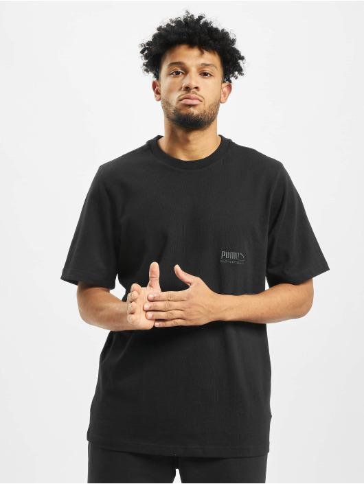 Puma T-Shirty Heavy Classics Tee czarny